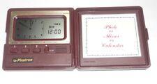 Piratron Quartz Alarm Graphic Clock/Reisewecker Uhr