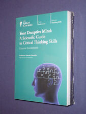 Teaching Co Great Courses   DVDs          YOUR DECEPTIVE MIND     new  & sealed