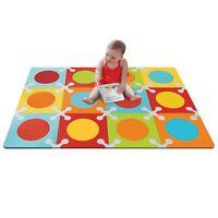 Skip Hop Playspot Baby Kids Play Foam Floor Tiles Mat - Bold Brights