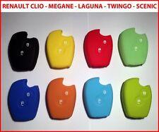 Cover chiave guscio RENAULT CLIO TWINGO LAGUNA KANGOO MEGANE SCENIC, etc 2 tasti
