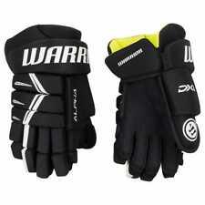 "New Warrior Alpha Dx Dx3 youth ice hockey gloves black White 8"""