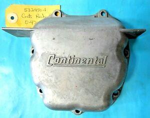 Teledyne Continental O-470 E185 E225 Engine Aluminum Rocker Box Cover pn. 532450