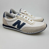 Men's NEW BALANCE 'RC410' Sz 9 US Shoes White Leather ExCon | 3+ Extra 10% Off