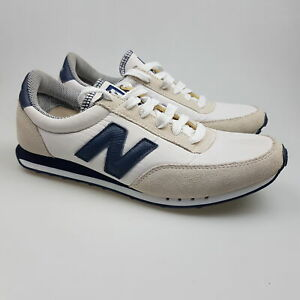 Men's NEW BALANCE 'RC410' Sz 9 US Shoes White Leather ExCon   3+ Extra 10% Off