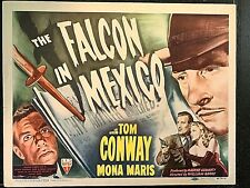 THE FALCON IN MEXICO 1944 ORIGINAL TITLE LOBBY CARD, TOM CONWAY