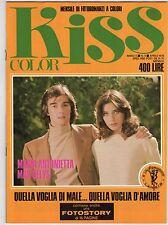 fotoromanzo KISS COLOR ANNO 1978 NUMERO 5 ANTONIETTA DELYS