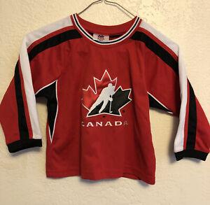 Youth Team Canada Hockey Jersey Sz 3X
