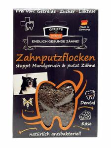 QChefs Zahnputzflocken für Hunde 90gr. Beutel (8,88€ / 100gr.)