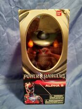 Saban's Mighty Morphin Power Rangers Action Figure Alpha 5 Movie 2017 Movie