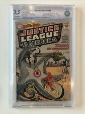 Brave and the Bold #28 CBCS 3.5 first appearance of Justice League not CGC