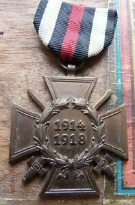 Original German WW1 1914-1918 Hindenburg Cross of Honour medal