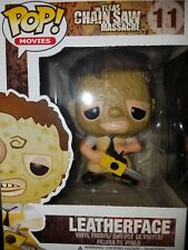 Funko Pop! Movies The Texas Chainsaw Massacre Leatherface #11 Figure VAULTED MIB