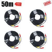 164ft Security Camera Cable CCTV Video Power Wire BNC RCA Cord DVR Surveillance