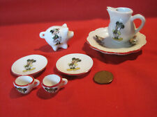 Miniature Mickey & Minnie Mouse Disney porcelain china, Reutter Germany