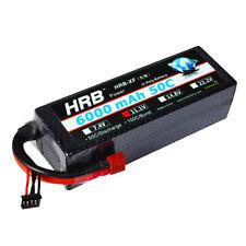 HRB 6000mAh 11.1V 3S Lipo Batterie Hardcase 50C-100C Deans für RC Modellbau Akku