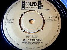"""Jane MORGAN-Li benedica tutti e 7"""" in vinile"""