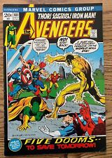 THE AVENGERS #101 COMIC BOOK (MARVEL,1972) BRONZE AGE +