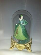 Gone with The Wind 'Scarlett's Deception' Glass Domed Figurine 1993 Turner