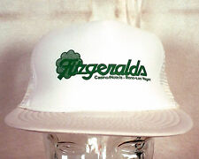vtg 80s Fitzgerald's Las Vegas Reno Casino Hotels Snapback Trucker Hat Cap
