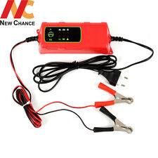 Smart 12V Marine Deep Cycle AGM gel Vehicle Car Battery Charger Auto Shut off