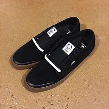 DVS Cedar Enjoi Zach Wallin Size 10 US Black Suede BMX DC Skate Shoes Sneakers