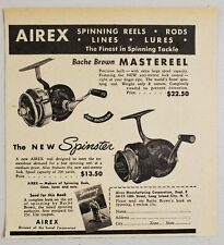 Guide to Bache Brown and Airex//Lionel Fishing Tackle REELS RODS LURES MISC ITEMS