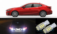 Premium Bright LED Reverse Backup Light Bulbs for 2015 - 2016 Mazda 3 T15 42SMD