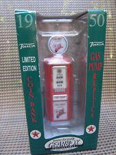 NIB Gearbox 1950 Tokheim Texaco Fire Chief Gas Station Pump Coin Bank 66009