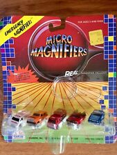 1987-'88 FUNRISE  MICRO MAGNIFIERS *Emergency Vehicles*  with MAGNIFIER INCLUDED