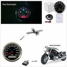 85mm 3 3/8'' LED Motorcycle Car GPS Speedometer Odometer 200km/h KPH Waterproof