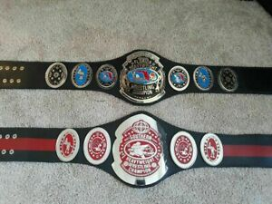 FLORIDA & SOUTHERN Wrestling Championship 4mm belt adult size