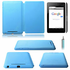 Genuine Official Asus Google Nexus 7 (2012) Full Travel Cover Sky Color