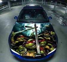 TMNT Mutant Ninja Turtles Car Body Hood Bonnet Vinyl Decal Sticker fit any Auto