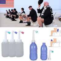 New 450ml Portable Empty Bidet Bottle Handheld Travel Toilet Hand Spray Seat