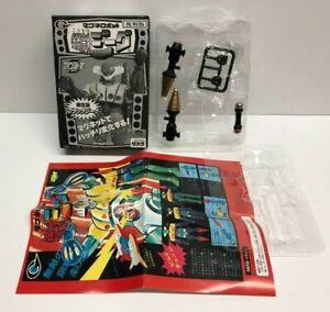 Steel Jeeg Black Version 1998 Takara Magnet Robot Chogokin Box & Parts Lot