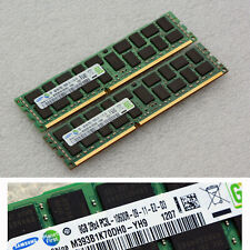 Samsung 32gb 4 X 8gb Pc3-10600r ECC Server Memory Kit