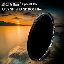 ZOMEi® 82mm Slim HD 18Layer Multi-Coated SCHOTT Glass 10 stop ND 1000 filter