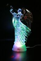 New Figurine Light-up Praying Angel Statue Night Light Cute Cherub FIGURINE
