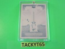 "2015 GARBAGE PAIL KIDS ""COUNTY FERRIS"" CYAN 1/1 PRINTING PLATE NUMBER 15a"