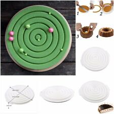 Silicone Round Insert Decor Shape Cake Mold For Cake Decorating Tool  Chocolate