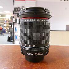 Used Pentax HD DA 16-85mm f3.5-5.6 ED DC WR Lens - 1 YEAR GTEE