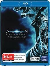 Alien Anthology (Blu-ray Disc, 1979, 4-Disc Set)