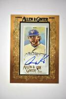 2020 Topps Allen and Ginter Mini Framed Auto #MA-AK Anthony Kay RC