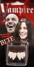 I denti BILLY-Bob vampiro denti tripla con fissativo Costume Adulto
