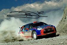 Robert KUBICA SIGNED AUTOGRAPH 12x8 CITROEN WRC Photo AFTAL COA