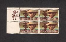 SCOTT # 1555 American Arts United States U.S. Stamps MNH - Zip Block of 4