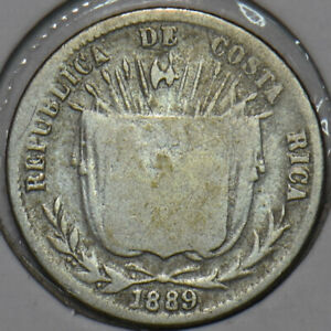 Costa Rica 1889 10 Centavos 196275 combine shipping