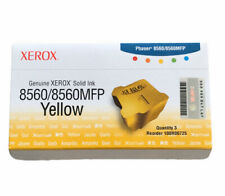 Xerox Solid Ink 8560 MFP Yellow 108R00725 New Genuine NEW OPEN BOX