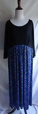 NWT Bob Mackie Wearable Art 1X Kaleidoscope Print Jersey Knit Stretch Dress