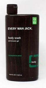 Every Man Jack Body Wash, Eucalyptus Mint 16.9-ounce